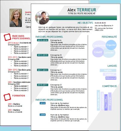 Curriculum Vitae Gratuit Pour Openoffice